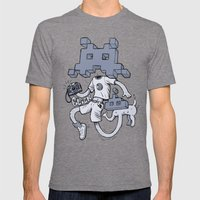 Videofoto Mens Fitted Tee Tri-Grey SMALL