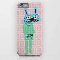 iPhone & iPod Case featuring HIPSTER BUNNY by Alberto Corradi