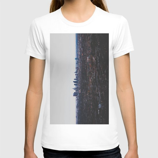 Los Angeles in fog T-shirt