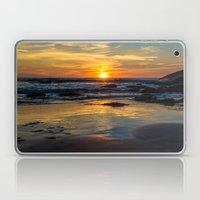 Sunset on Whipsiderry Beach Laptop & iPad Skin