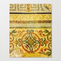 Mosaic Floor 2 Canvas Print