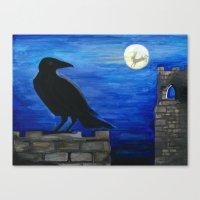 Hare Moon Canvas Print