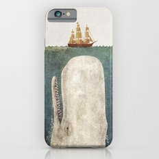 The Whale - vintage option Slim Case iPhone 6s