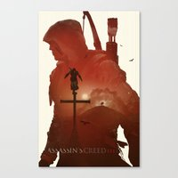 Assasins Creed 3 Canvas Print