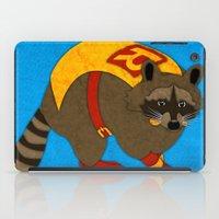 Raccoon iPad Case