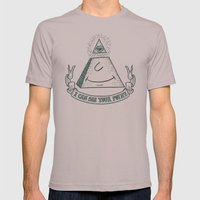 Eye of Compliance Mens Fitted Tee Cinder SMALL