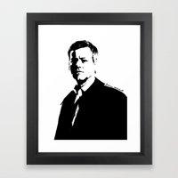 DI Greg Lestrade Framed Art Print
