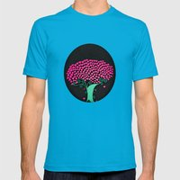 Tree Of Love  Mens Fitted Tee Teal SMALL