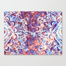 Drawn From Nature (Part … Canvas Print