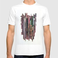 Conveyor Belt Mens Fitted Tee White SMALL