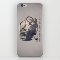 Hip The Road, Jack! iPhone & iPod Skin