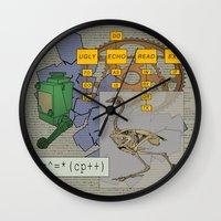 Ugly To Go Go Wall Clock