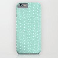 Blue Dots iPhone 6 Slim Case