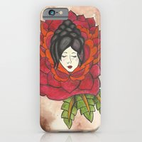 Lady in Rose iPhone 6 Slim Case