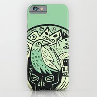 Bubble head - green iPhone 6 Slim Case