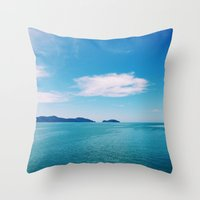 The World's Calling Throw Pillow