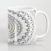 Black, Gold, And White Mug