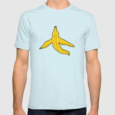 Bananas Mens Fitted Tee Light Blue SMALL