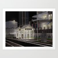 New Orleans Experiment B Art Print