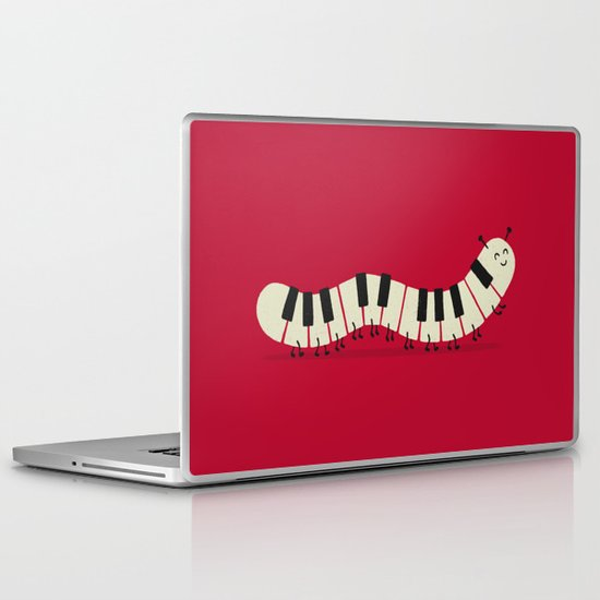 Caterpiano Laptop & iPad Skin