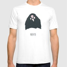 Neato Mens Fitted Tee White SMALL