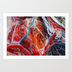 Linear1 Art Print