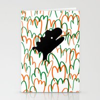 Jungle Dinosaur Stationery Cards