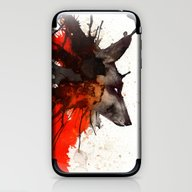 Ink Wolf iPhone & iPod Skin