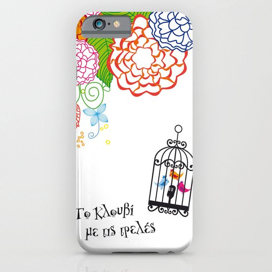 Το κλουβί με τις τρελές (the cage with the crazy girls) iPhone & iPod Case