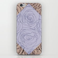 Art Nouveau Rose iPhone & iPod Skin