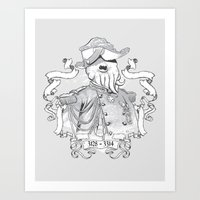 I For One Welcome Our Am… Art Print