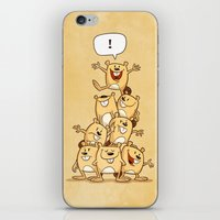 Shout It Out! iPhone & iPod Skin