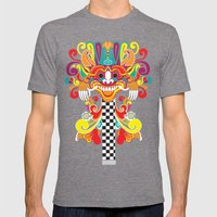 Barong Pop Art Mens Fitted Tee Tri-Grey SMALL