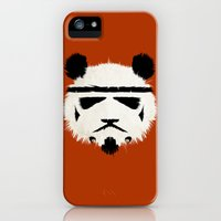 iPhone 5s & iPhone 5 Cases featuring Panda Trooper by Danny Haas