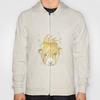Yakety Yak Striped Illustration  Hoody
