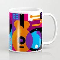 Music Mosaic Mug