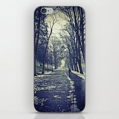 A walk through the park I iPhone & iPod Skin