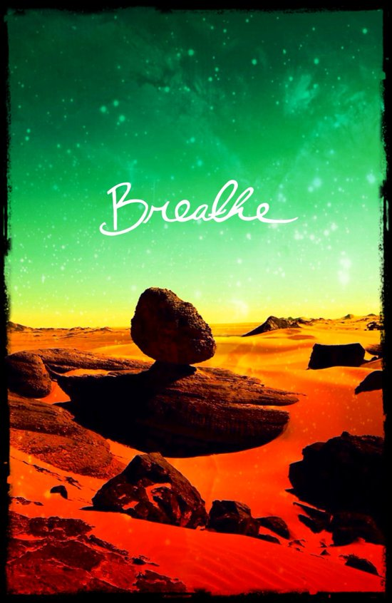 Breathe - for iphone Art Print