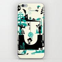 Time Alone iPhone & iPod Skin