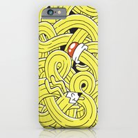 iPhone & iPod Case featuring Pencil Pup by Frenemy