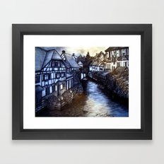 Irish Village Framed Art Print