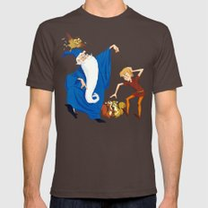 The Sword in the Stone Mens Fitted Tee Brown SMALL