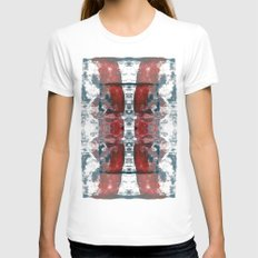 Butterfly FX Womens Fitted Tee White SMALL