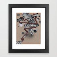 vans,trucks & elvis Framed Art Print