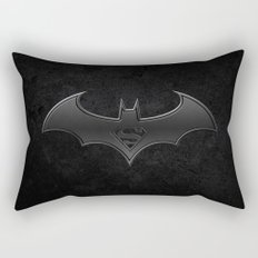 Superman - Bat man Rectangular Pillow