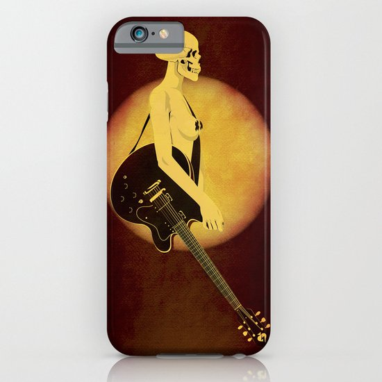 Skull Of Rock iPhone & iPod Case