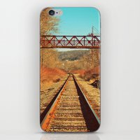 On The Right Track iPhone & iPod Skin