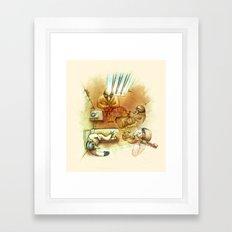 Jailhouse Rock Framed Art Print