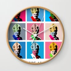 Pope art Wall Clock