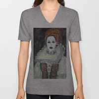 COUNTESS ERZEBET BATHORY Unisex V-Neck